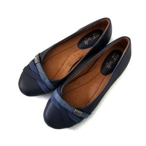 Eurosoft by Sofft Navy Blue Comfort Flats